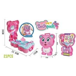 Mainan Dresser Princesss Pet Backpack Cat Kucing