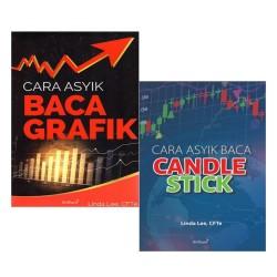 Buku Cara Asyik Baca Grafik & Cara Asyik Baca Candlestick Linda Lee