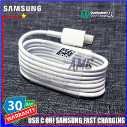 Kabel Data Samsung Galaxy A8 A8+ 2018 ORIGINAL 100% Fast Charge USB C