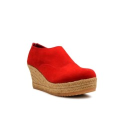 WEDGES Alyssa Espadrilles - Red 7cm