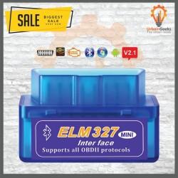 ELM327 Super Mini OBD OBD2 V2.1 Bluetooth Car Scanner Alat Scan Mobil