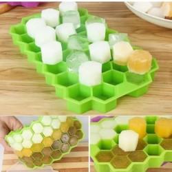 Cetakan Es Batu Honey Combs - Citakan es cetakan silikon bentuk Anggur