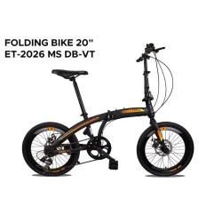 "Sepeda lipat EXOTIC 20"" 2026 MT 6.0 VT DISC Velg tinggi seperti noris"