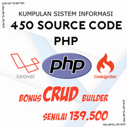 450 Source Code Program Aplikasi dan Sistem Informasi PHP