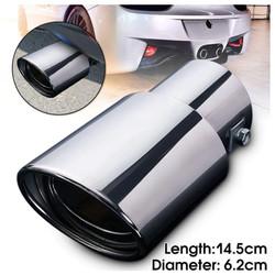 Muffler cutter buntut Cover Dekorasi ujung Knalpot Mobil Universal