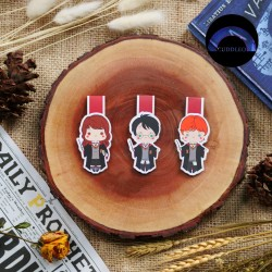 Magnetic Bookmark Harry Potter (Harry, Ron and Hermione)