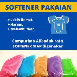 Softener 1L - BIANG SOFTENER 1 Liter - Refill - DIY