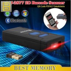 Symcode MJ2877 2D/QR Code Portable Wireless Bluetooth Barcode Scanner
