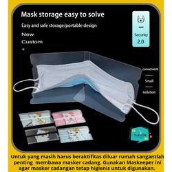 Folding Mask Storage / Tempat Penyimpanan Masker Medis Sensi 3ply