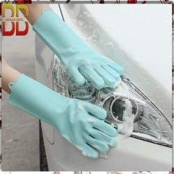 Silicone Dishwashing Gloves Magic glove Sarung tangan cuci piri