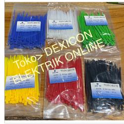 kabel ties 10cm/size 2.5 x100/pengikat plastik/kabel tie/kabel serut