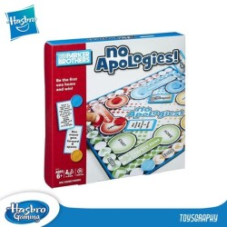 Parker Brothers NO APOLOGIES Board Game Hasbro Gaming CRAZY SALE RUGI