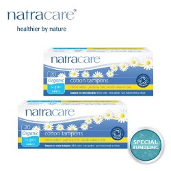 Natracare Digital Tampons Super 20s (2 pack)
