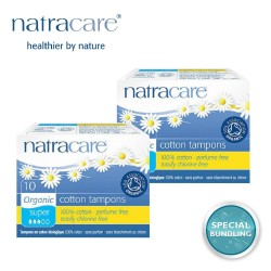 Natracare Digital Tampons Super 10s (2 pack)