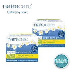 Natracare Digital Tampons Regular 10s (2 pack)