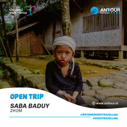 [Down Payment] Paket Wisata Open Trip Baduy Dalam ANT Tour Indonesia