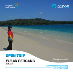 [Down Payment] Paket Wisata Open Trip Pulau Peucang ANT Tour Indonesia