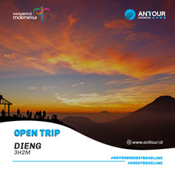 [Down Payment] Paket Wisata Open Trip Dieng ANT Tour Indonesia