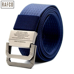[BIG SALE] Craftman Tali Ikat Pinggang Pria Canvas Buckle Belt - B1030 - Hitam
