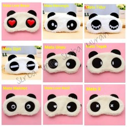 Penutup Mata Tidur Karakter Panda Imut & Lucu