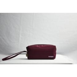 Bogga Tas mini Travel Handy Pouch Marun Waterproof Premium
