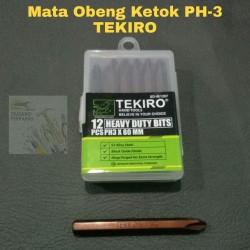 Mata Obeng Ketok PH3 TEKIRO / Mata Obeng Ketok / Tekiro
