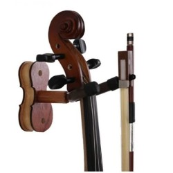 Stand Wall Dinding Hanger With Bow Holder Violin Biola Viola