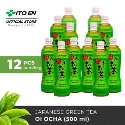 ITO EN Oi Ocha Unsweetened Teh Hijau Jepang 500ml No Sugar - 12 pcs
