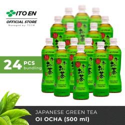 ITO EN Oi Ocha Unsweetened Teh Hijau Jepang 500ml No Sugar - 24 pcs