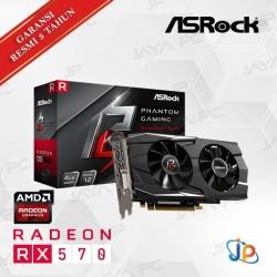VGA Asrock Phantom Gaming D Radeon RX 570 4GB - RX570 Dual 4 GB DDR5