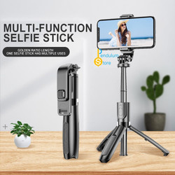 L02 Selfie Stick Tongsis Tripod 4 in 1 with Wireless Remote Shutter
