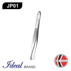 Pinset Cabut Alis / Bulu Stainless Steel Silver JP01