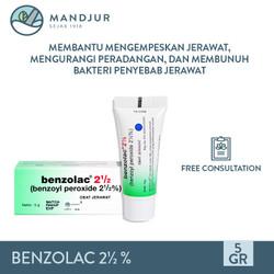Benzolac 2.5 % - Salep Obat Jerawat