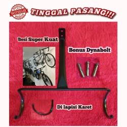 Gantungan Sepeda Dinding / bracket sepeda / bike wall hook anger
