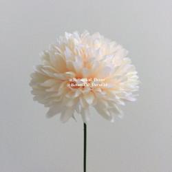 Artificial Flower PomPom Mum Dandelion Bunga Palsu Buatan Plastik Hias - PEACH