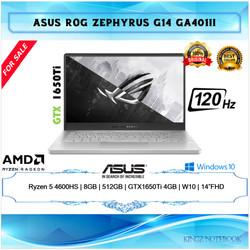 Asus ROG Zephyrus G14 Ryzen 5-4600HS 8GB 512GB GTX1650Ti Win10 14 FHD - Eclipse Gray