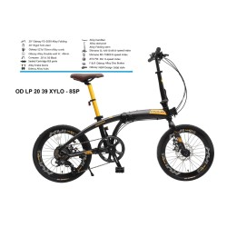 SEPEDA LIPAT ODESSY NEW XYLO - OD LP 20 39 XYLO 8SP