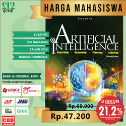 TERMURAH ORIGINAL Buku Artificial Intelligence Revisi Terbaru