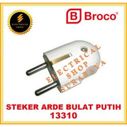 BROCO STEKER ARDE / 2P PUTIH 13310 (TERSEDIA HARGA GROSIR) 1331055