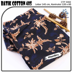 MUKA IG bahan kain cotton katun batik kemeja murah per 50 yard cat 25