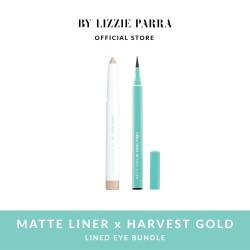 Matte Liner x Harvest Gold