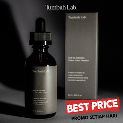 Tumbuh Lab Hair Oil Tumbuhlab Original (Free Hand Sanitizer)