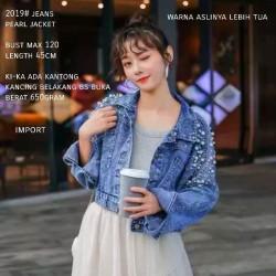 Carolline Pearl Jeans Jaket Import TM 2019