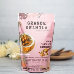 Grande Granola White Chocolate and Cranberry 230gr / Sarapan Sehat