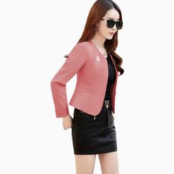 Blazer Kantor Wanita Gaya Korea Cantik Murah Terbaru - Jfashion Seoyun