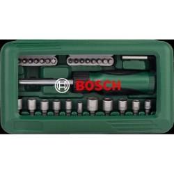Bosch X-line 46 Screwdriver Set Mata Obeng Set 46pcs Green