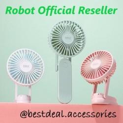 Robot RT-BF11 Kipas Angin Portable Mini Fan & Powerbank 2000mAh - Putih
