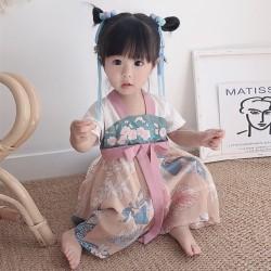 dress hanbok korea anak / hanbok dress / dress anak tradisional korea - XXL