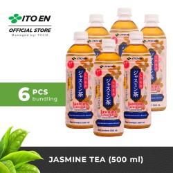 ITO EN Jasmine Tea Unsweetened Teh Melati Jepang 500ml - 6 pcs