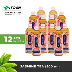 ITO EN Jasmine Tea Unsweetened Teh Melati Jepang 500ml - 12 pcs